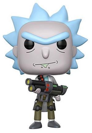 Funko Pop Animación Rick Y Morty Weaponized Rick (los