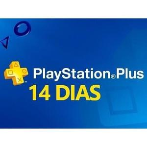 Membresia Playstation Plus 14 Dias PSN Plus Para PS3 ó PS4