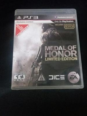 Vendo Medal Of Honor Ps3 Como Nuevo