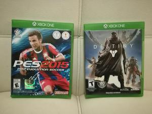 Vendo O Cambio 2 Juegos de Xbox One