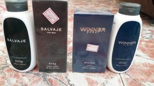 Combo Perfume Y Talco Desodorante Cada 1