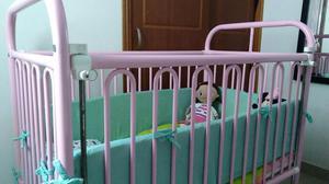 Cuna, Choche Y Silla Mesedora para Bebé