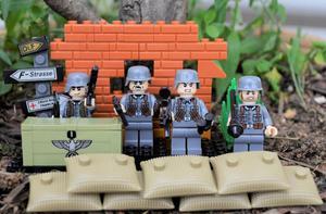 Figuras Tipo Lego Segunda Guerra Mundial