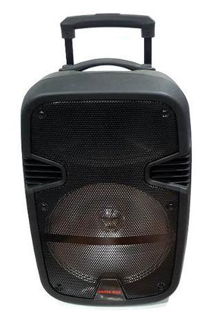Cabina De Sonido Recargable +tripode, Micrófono, Control