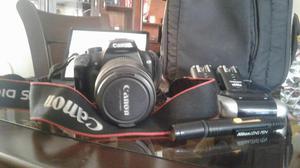 Cámara profesional Canon lente