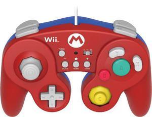 Hori Batalla Pad Para Wii U (mario Version) Con Turbo - Nin