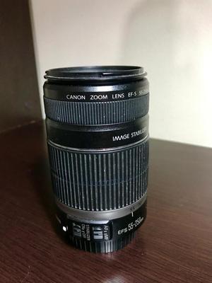 Lente Canon  mm con estabilizador.