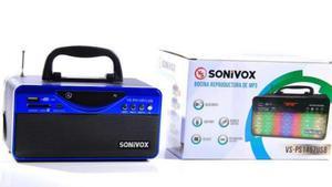 Radio Parlante Sonivox Bluetooth Fm Sd