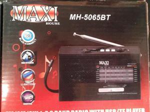 Radio Reproductor Maxi Am/fm Bluetooth