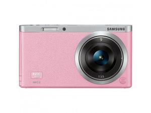 Samsung camara nx mini rosada