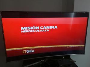 Televisor Smart Tv 55 Pulgadas Curvo