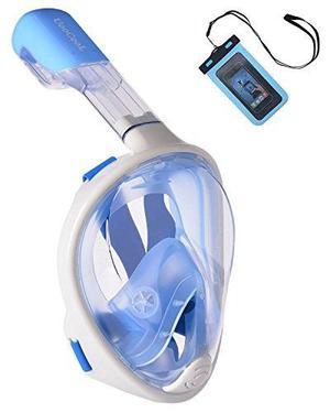 Uoocool Máscara De Snorkel De Cara Completa De 180 °