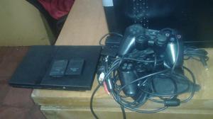 Vencambio Play Station 2 con 2 controles 2 memorias juegos y