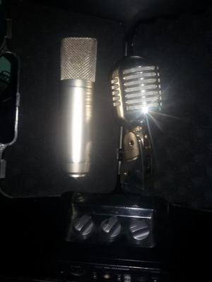 Vendo O Cambio Par de Micrófonos