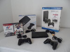 Consola Play Station 2 Slim Sony + 2 Juegos Originales