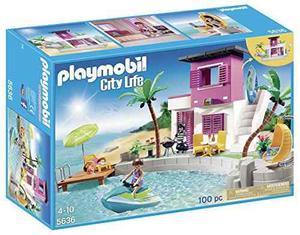 Playmobil Casa De Playa De Lujo Playset