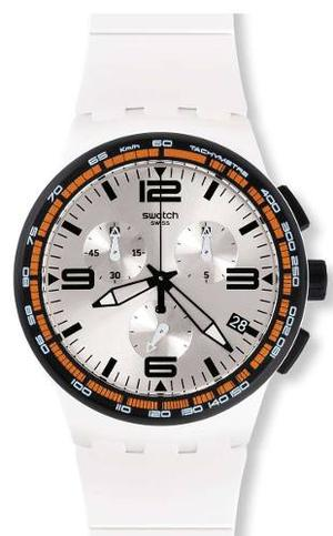 Reloj Swatch Para Hombre Susw405 Blanco