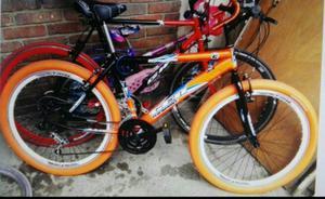 Se Vende Bicicleta Naranja Todo Terreno