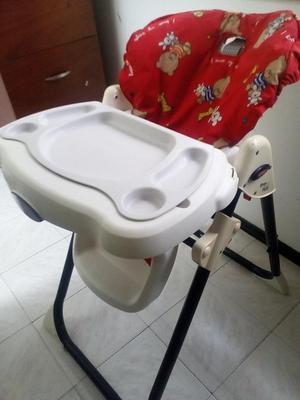 Silla comedor para bebe unisex marca Fisher Price