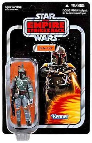 Star Wars 3.75 Vintage Figura Boba Fett