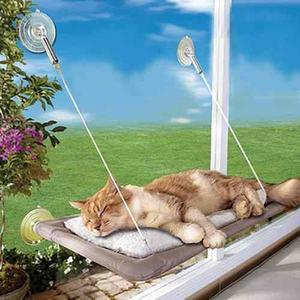 Sunny Seat Cat Window Perch Cama De Gato Montada En La Ve...