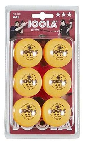 Joola Rossi Bolas De Tenis De Mesa 3 Estrellas - 6 Pack