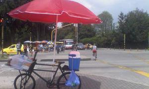 se vende bicicleta para montar un negocio de comidas