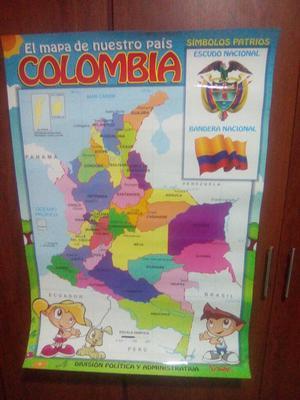 Mapas de Colombia Nuevos