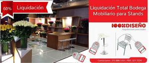 Mobiliario en Stock Liq. de Bodega