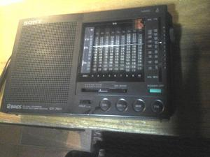 Radio Sony Icf  Bandas