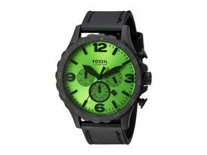 Reloj Fossil Para Hombre Cronógrafo Correa De Cuero, Jr