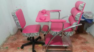 Manicure y pedicure por solo posot class for Sillas para manicure