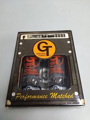 Tubos Groove 6l6 Para Amplificador De Guitarra O Bajo