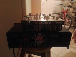 Vendo Planta Peavey De 4 Salidas 250 Was Y Un Mixer X