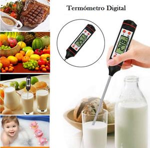 Termómetro Digital Largo Cocina Probador Temperatura Aceite