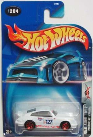Hot Wheels  Final Run Porsche 911 Carrera !