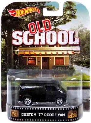 Hot Wheels Old School Custom '77 Dodge Van !