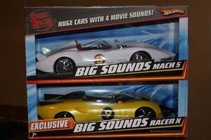 Hot Wheels Speed Racer Exclusive Mach 5 & Racer X !