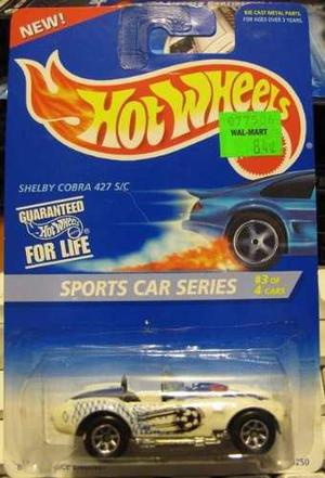 Hot Wheels Sports Car Series Shelby Cobra 427 S/c !