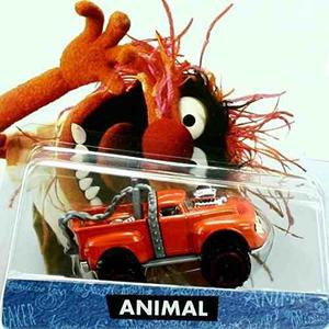 Hot Wheels The Muppets Animal Orange Truck !