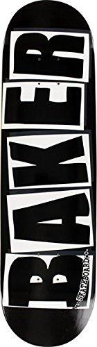 Panadero Logotipo De La Marca Negro / Blanco Tabla De Patin