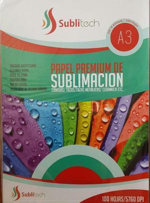 Papel Premium para Sublimación