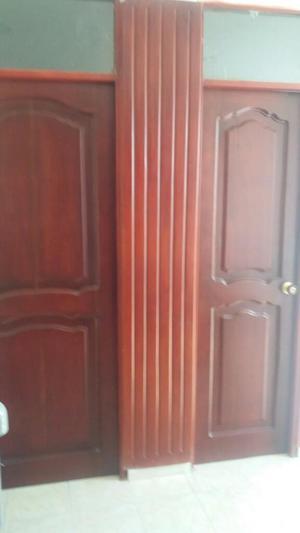 Puertas en madera posot class for Puertas galvanizadas medidas