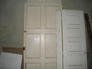 Puertas en madera con chapa usadas buenas cuartos y ba o for Puertas usadas de madera