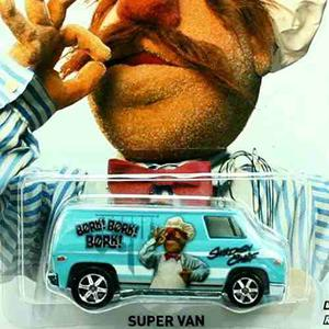 The Muppets Hot Wheels Super Van Featuring Swedish !
