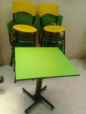 Vendo mesas y sillas para restaurante o cali posot class for Juego de mesa y sillas