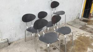 Juegos sillas y mesas cafeteria y o bar posot class for Sillas para cafeteria