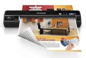 Epson Workforce Ds-40 Scanner De Documentos Portátil