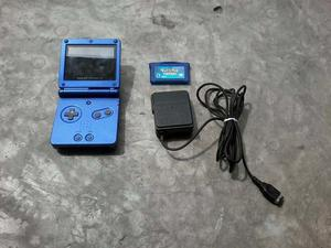 Gameboy Advance Sp 101 Retroiluminado Con Juego Y Cargador