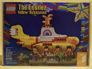 NUEVO LEGO Yellow Submarine The Beatles Submarino Amarillo